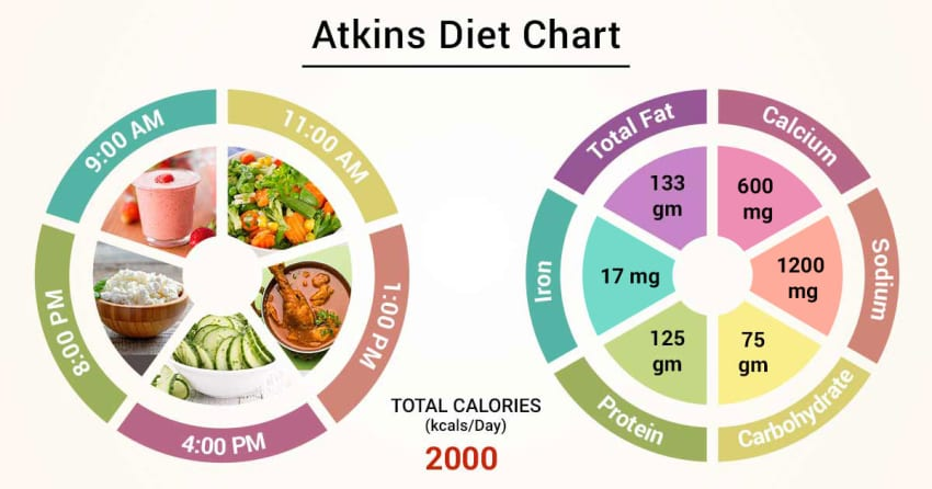 is atkins a high protein diet